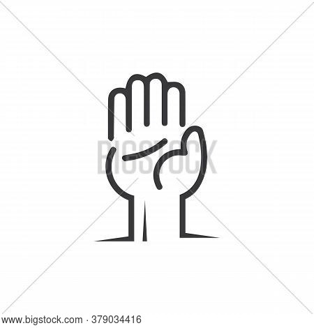 Hand Gestures And Sign Language Isolated