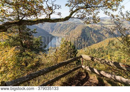 View Of The Danube And The Upper Danube Valley - Austria
