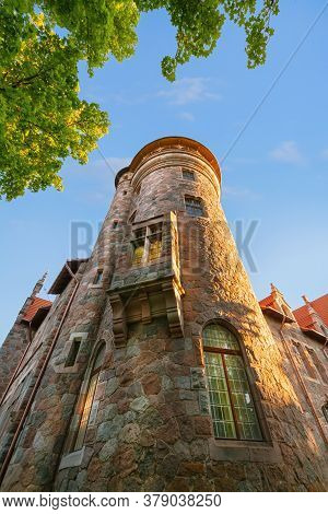 Image Of Old Palace In Cesvaine, Latvia