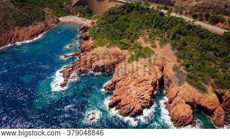 The Wonderful Cote D Azur At Cap Roux At The South Coast Of France - Travel Photography