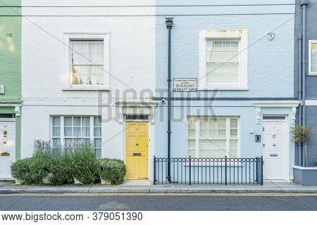 June 2020. London.a Street Scene In Chelsea, London, Uk Europe