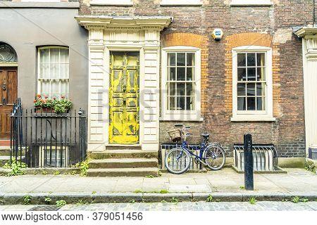 June 2020. London. 18 Th Centuary Georgian Houses In Spitalfields, London, England, Uk Europe