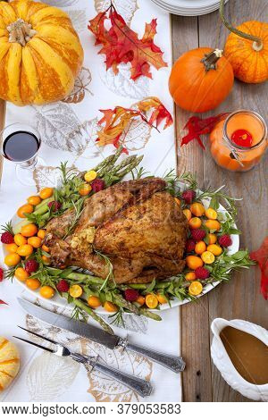 Citrus Glazed Thankgiving Turkey