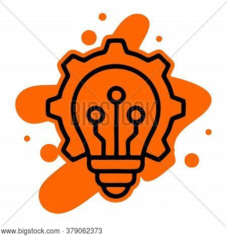 Innovation Icon Isolated On White Background From Robotics Collection. Innovation Icon Trendy And Mo