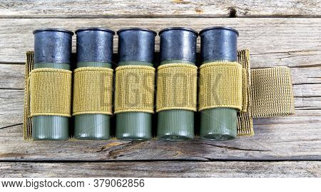 12 Gauge Shotgun Shells With Tactical Shell Holder .