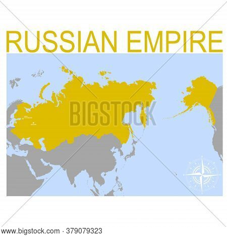 Vector Map Of The Russian Empire For Your Design