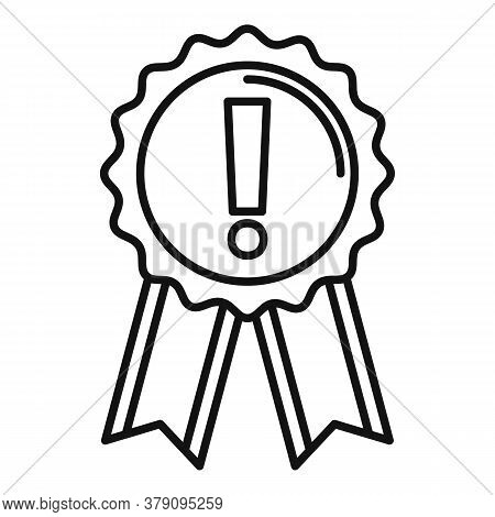 Success Emblem Innovation Icon. Outline Success Emblem Innovation Vector Icon For Web Design Isolate