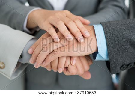Hands Of Support