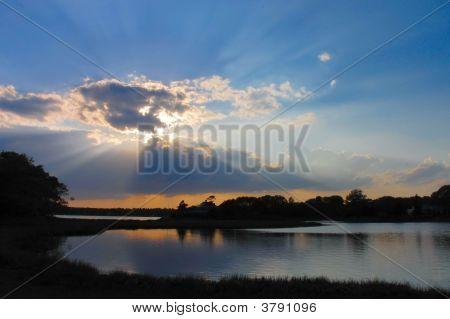 Sun rays taken in Osterville