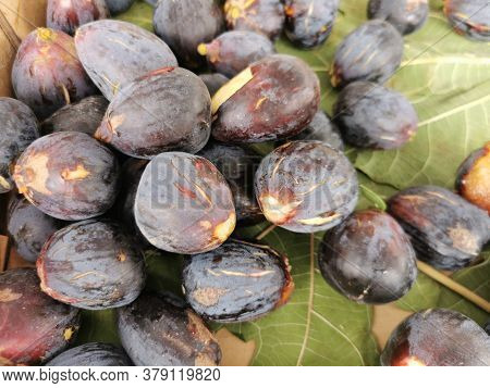 Figs On Fig Leaves On The Market