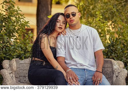 Interracial Young Couple In Love 3
