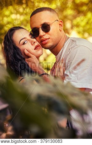 Love Couple In Nature Close Up 4
