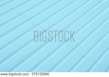 Diagonal Lines Pattern. Light Blue Slanting Lines. Abstract Geometric Background Design.