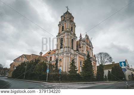 Church Of St. Johns In Old Vilnius