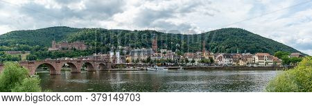 View Of The Historic Old Town Of Heidelberg