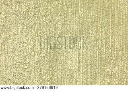 Background Of Yellow Painted Plaster Wall