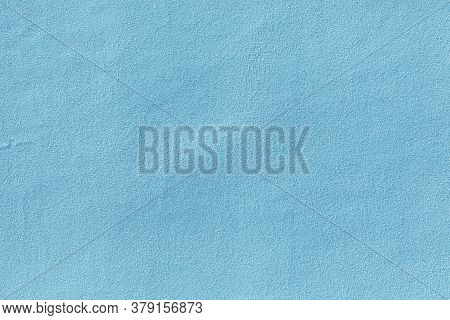 Background Of Blue Painted Plaster Wall