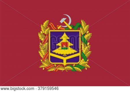 Flag Of Bryansk Oblast Of Russia