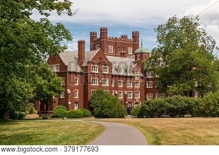 Ithaca, New York - July 7, 2020: Cornell University In Ithaca, New York.