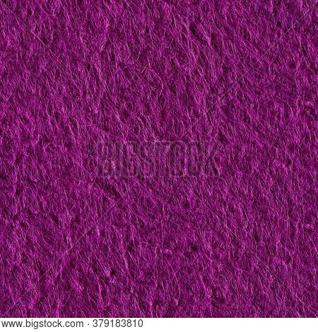 Purple Felt Background. Seamless Square Texture. Tile Ready.