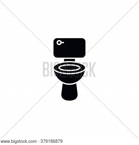 Illustration Vector Graphic Of Wc, Sanitary Icon
