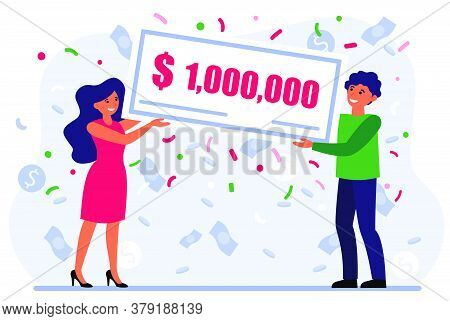 Lucky Couple Winning Grant