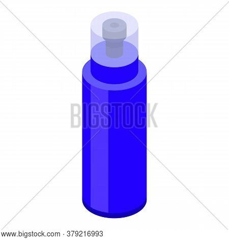 Gym Water Bottle Icon. Isometric Of Gym Water Bottle Vector Icon For Web Design Isolated On White Ba