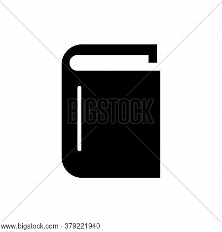 Book Icon Isolated On White Backgroud, Book Icon Vector Design Concept, Book Vector Icon Modern And