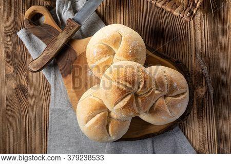 Fresh Bread For Breakfast.