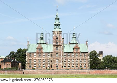 The Castle Of Rosenborg In Copenhagen, Denmark