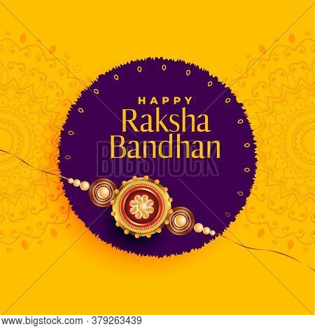 Brother And Sister Rakhi Festival Of Raksha Bandhan Background