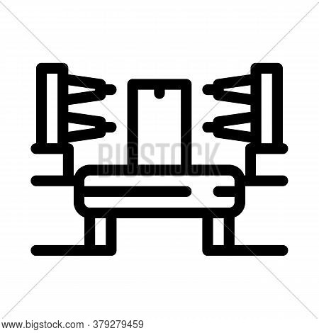 Automation Manufacturing Icon Vector. Automation Manufacturing Sign. Isolated Contour Symbol Illustr