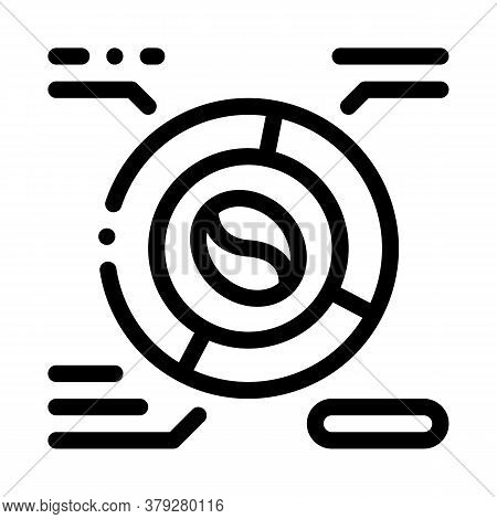 Coffee Characteristics Icon Vector. Coffee Characteristics Sign. Isolated Contour Symbol Illustratio
