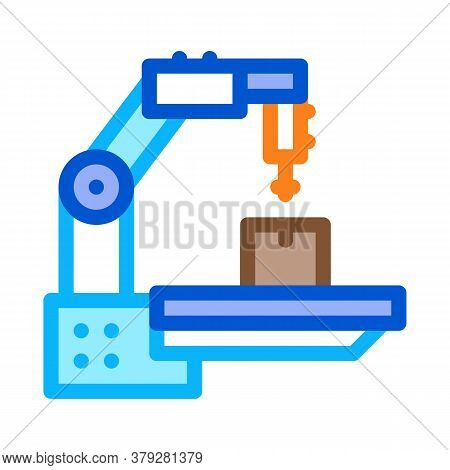 Manufacturing Technology Icon Vector. Manufacturing Technology Sign. Color Symbol Illustration
