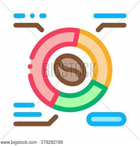 Coffee Characteristics Icon Vector. Coffee Characteristics Sign. Color Symbol Illustration