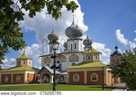 The Tikhvin Monastery Of The Dormition Of The Mother Of God.