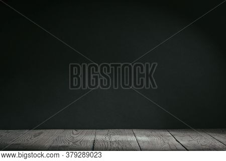 gray background texture, top backlight. panorama room