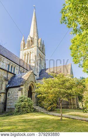 June 2020 London. St Johns Church, Notting Hill, London, England, United Kingdom Europe