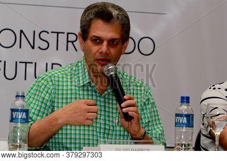 Mata De Sao Joao, Bahia / Brazil - May 30, 2012: Silvio Barros, Mayor Of The City Of Maringa, Is See