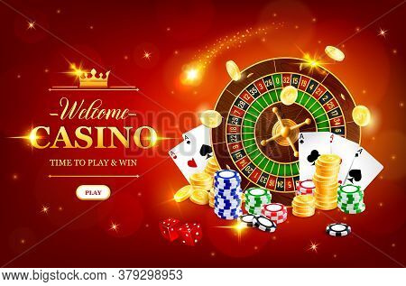 Online Casino Wheel Of Fortune Vector Roulette Gambling Game. Jackpot Big Win, Casino Poker Club Cas