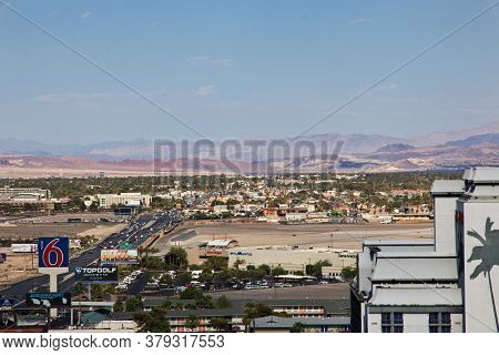 Las Vegas / United States - 06 Jul 2017: The View On Las Vegas, United States