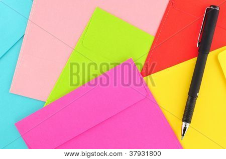 Letter Paper Colorful