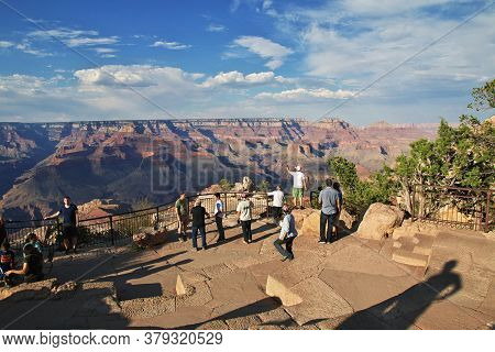 Grand Canyon / United States - 07 Jul 2017: Grand Canyon In Arizona, Unites States
