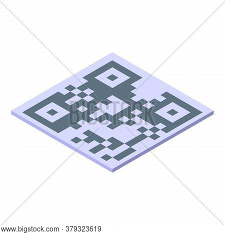 Authentication Code Icon. Isometric Of Authentication Code Vector Icon For Web Design Isolated On Wh