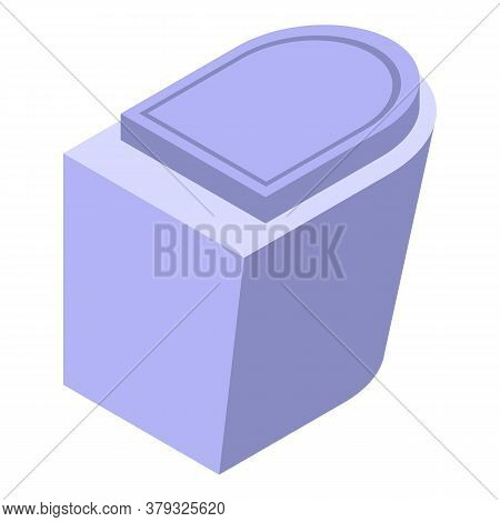 Bathroom Bidet Icon. Isometric Of Bathroom Bidet Vector Icon For Web Design Isolated On White Backgr