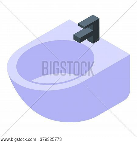 Shower Bidet Icon. Isometric Of Shower Bidet Vector Icon For Web Design Isolated On White Background