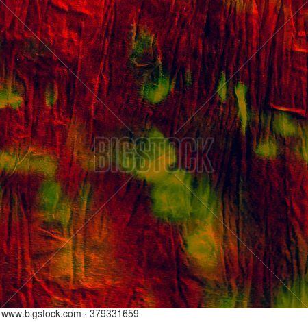 Watercolor Batik Repeat. Dominance Flora Print. Watercolor Batik Repeat Background. Ink Fractal Card