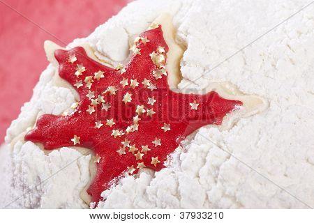 Star Christmas cookie