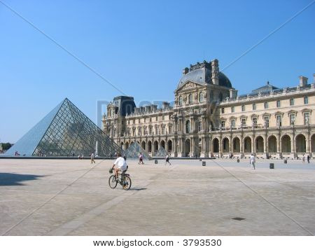 Paris, Louvre Courtyard