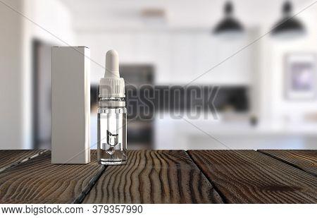Black Dropper bottle mockup. CBD pipette bottle mockup. Serum dropper botlle. Vape liquid in brown g